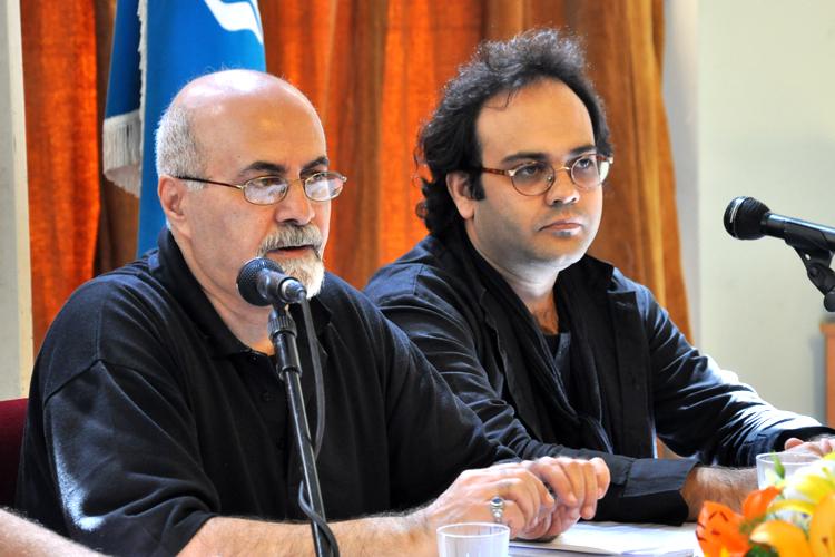 نشست خبری اپرای حافظ مرداد ماه ۱۳۹۱